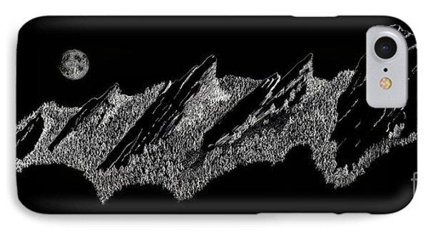 The Boulder Flatirons IPhone Case