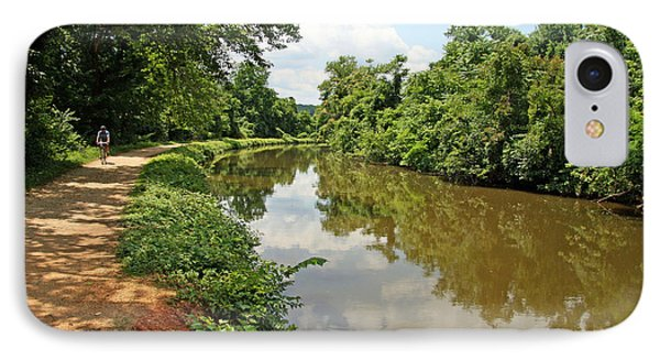 The Chesapeake And Ohio Canal IPhone Case by Cora Wandel