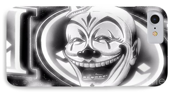 The Clown Wasn't Funny Phone Case by Newel Hunter