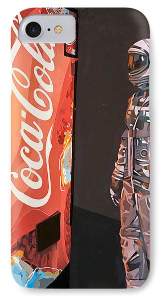 The Coke Machine IPhone Case by Scott Listfield
