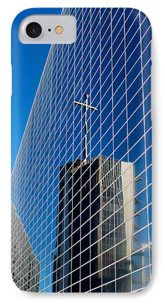 IPhone Case featuring the photograph The Crystal Cathedral by Duncan Selby
