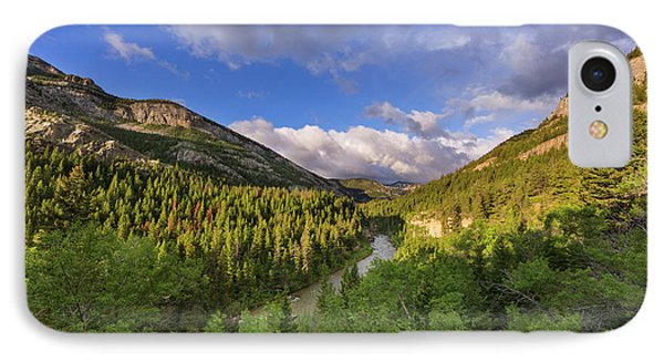 The Dearborn River In The Lewis IPhone Case by Chuck Haney
