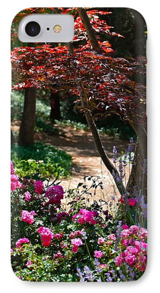 The Garden Path IPhone Case by Michele Myers