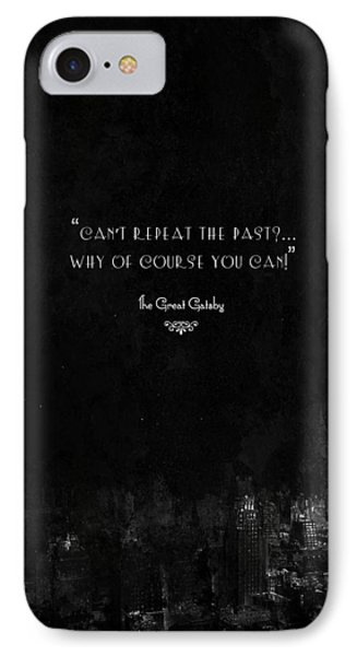 The Great Gatsby IPhone Case by Mike Taylor