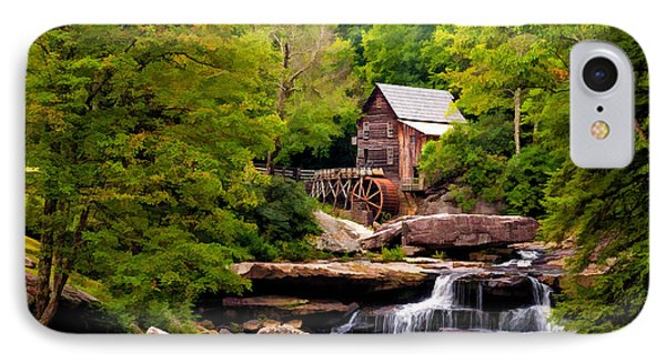 The Grist Mill Painted  Phone Case by Steve Harrington
