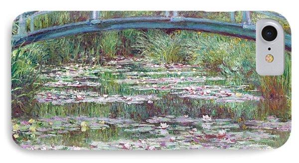 The Japanese Footbridge IPhone Case by Claude Monet