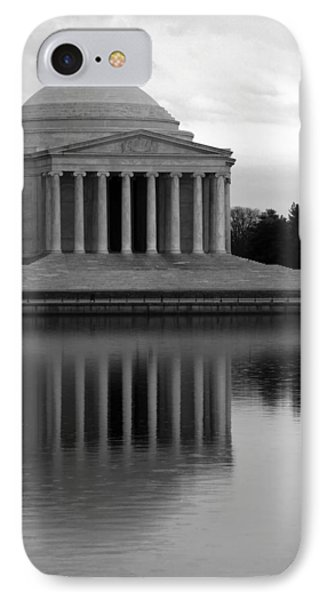 IPhone Case featuring the photograph The Jefferson Memorial by Cora Wandel
