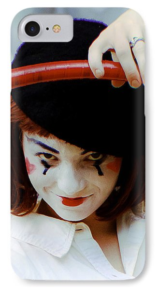 The Mime IPhone Case by Michael Nowotny