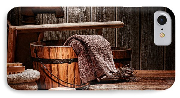 The Old Laundry IPhone Case by Olivier Le Queinec