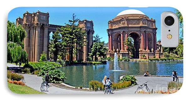 The Palace Of Fine Arts In The Marina District Of San Francisco IPhone Case by Jim Fitzpatrick