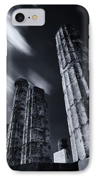 IPhone Case featuring the photograph The Pillars Of Apollo's Temple by Micah Goff