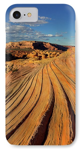 The Second Wave In The Vermillion IPhone Case by Chuck Haney