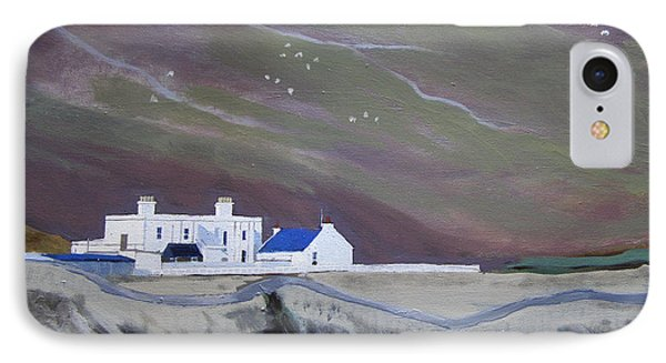The Shore Station At Burrafirth IPhone Case
