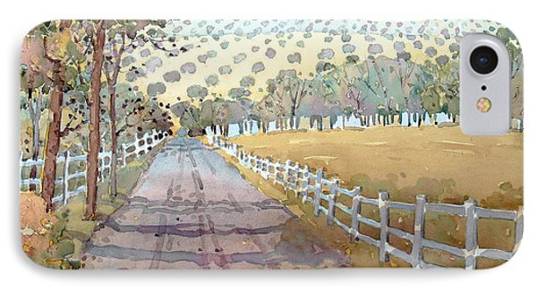 This Way To The Vineyard IPhone Case by Joyce Hicks