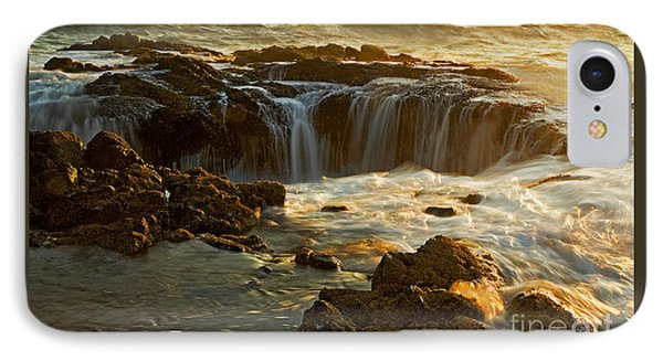 Thor's Well IPhone Case by Nick  Boren