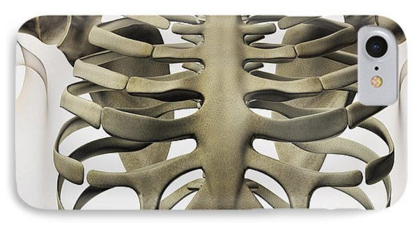 Three Dimensional View Of Female Phone Case by Stocktrek Images