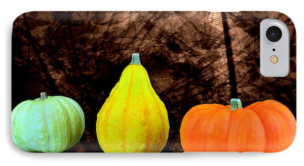 Three Small Pumpkins  Phone Case by Tommytechno Sweden