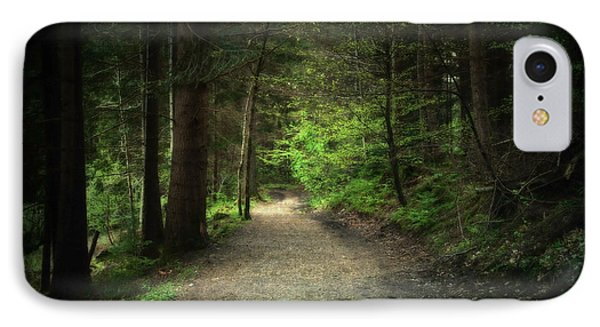 Through The Woods IPhone Case by Svetlana Sewell