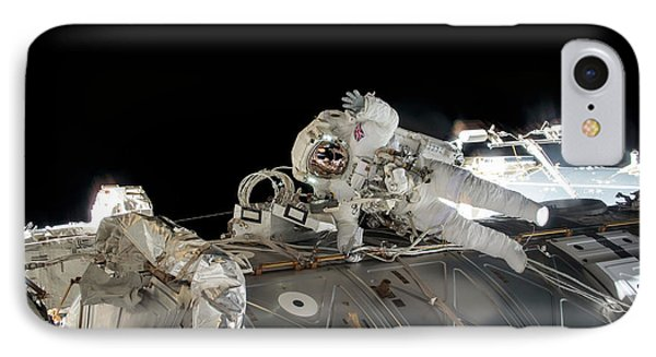 Emu iPhone 7 Case - Tim Peake's Spacewalk by Nasa
