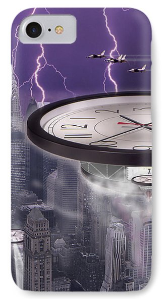 Time Travelers 2 Phone Case by Mike McGlothlen