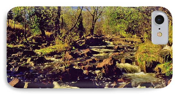 Tischer Creek Autumn Phone Case by Rory Cubel