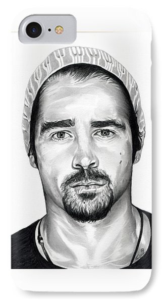 Total Recall  Colin Farrell IPhone Case by Fred Larucci