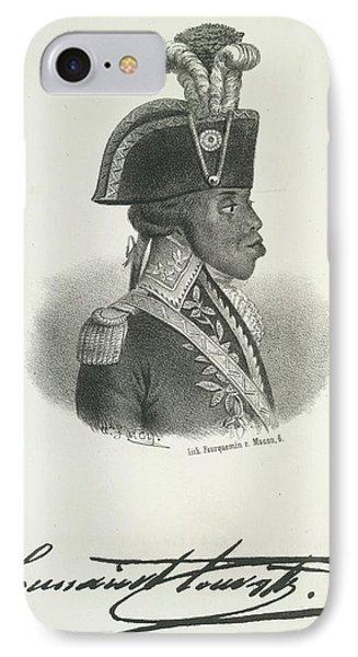 Toussaint Louverture IPhone Case by British Library