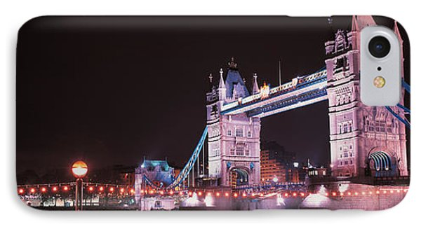 Tower Bridge London England IPhone Case by Panoramic Images