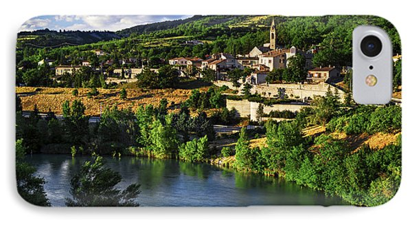 Town Of Sisteron In Provence Phone Case by Elena Elisseeva