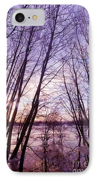 Trees In Water Phone Case by Michal Bednarek
