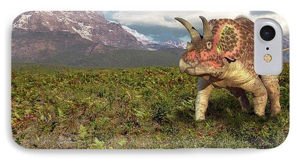 Triceratops Dinosaur IPhone Case
