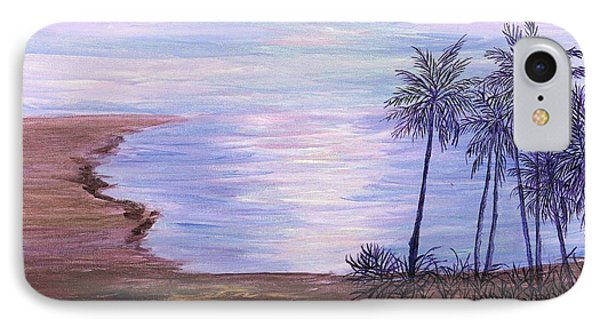 IPhone Case featuring the painting Tropical Paradise by Artists With Autism Inc