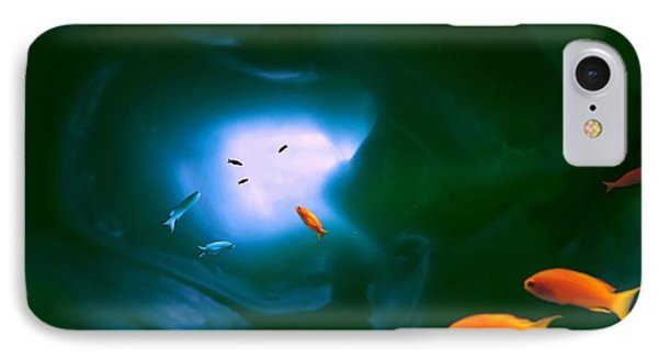 Tropical Sea Cave IPhone Case by Steed Edwards