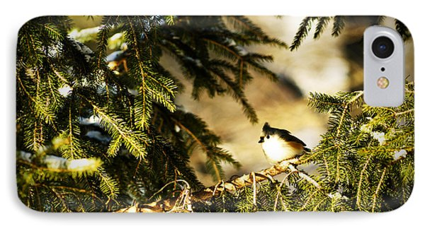 Tufted Titmouse Phone Case by Thomas R Fletcher