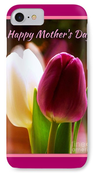 2 Tulips For Mother's Day IPhone Case