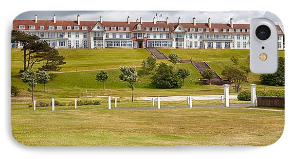 Turnberry Resort IPhone Case by Eunice Gibb