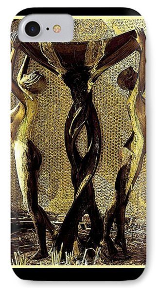 IPhone Case featuring the photograph Twisted by Steve Godleski