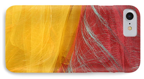 Two Scarves IPhone Case by Cora Wandel