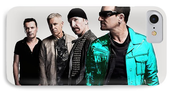 U2 IPhone 7 Case by Marvin Blaine