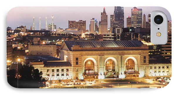 Union Station Evening IPhone Case by Crystal Nederman