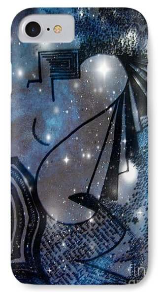IPhone Case featuring the mixed media Universal Feminine by Leanne Seymour