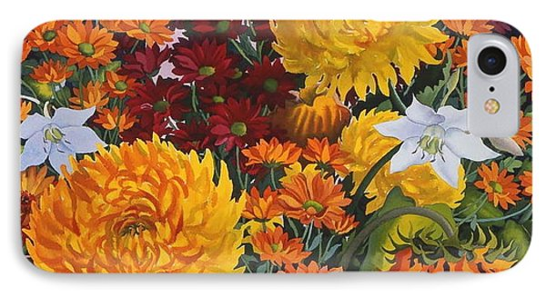 Painting In October IPhone Case by Christopher Ryland