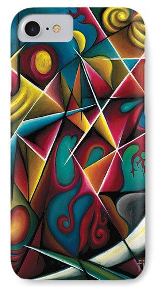 Upwards Through The Brambles IPhone Case by Tiffany Davis-Rustam