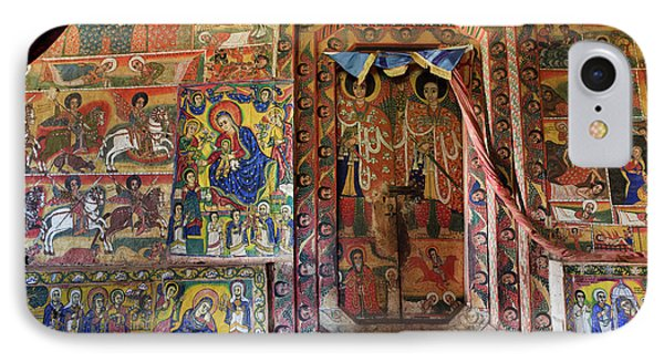 Ura Kidane Meret Monastery, Lake Tana IPhone Case by Martin Zwick