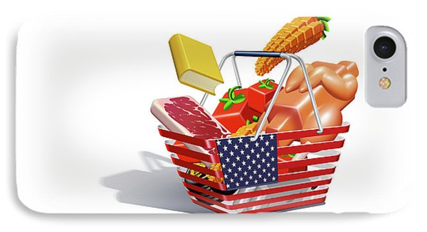 Us Inflation Index IPhone Case