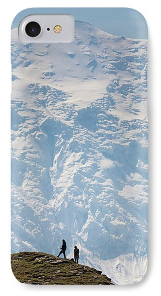 Usa, Alaska, Denali National Park IPhone Case by Hugh Rose
