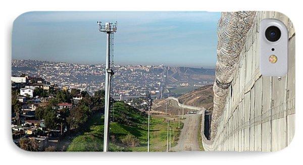 Usa-mexico Border Surveillance IPhone Case