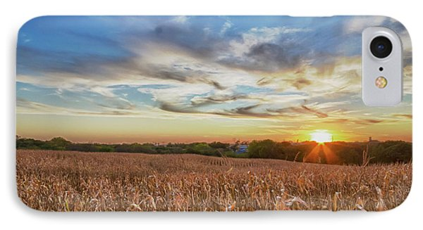 Usa, Nebraska, Near Omaha IPhone Case by Christopher Reed