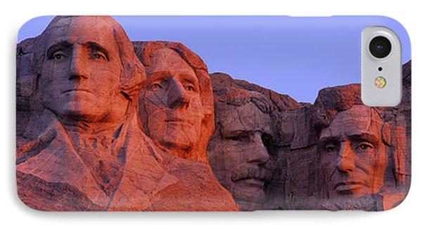 Usa, South Dakota, Mount Rushmore IPhone 7 Case by Panoramic Images