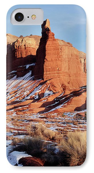 Usa, Utah, Capitol Reef National Park IPhone Case by Scott T. Smith